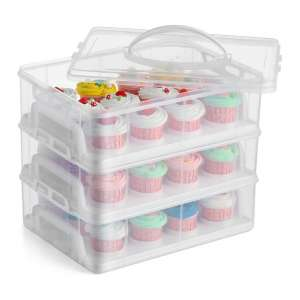 Stackable Cake Carrier