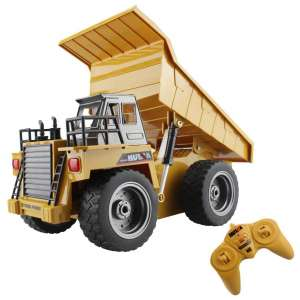 fisca 6 Channels 2.4G Alloy Remote Control Dump Truck