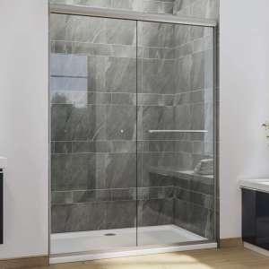 SUNNY SHOWER Glass Sliding Shower Door