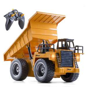 Top Race RC Dump Truck with Heavy Rubber Tires