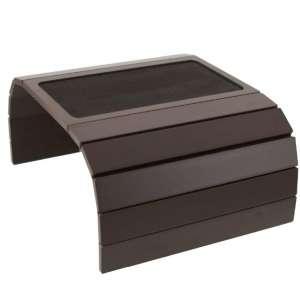 meistar Sofa Couch Arm Tray Table with EVA Base