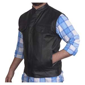 DEFY Moto Leather Men's Genuine Leather with Concealed Gun Pockets