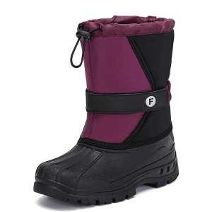 Mishansha Girls Boys Winter Snow Boots