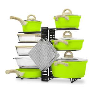 COZY Living Pots and Pans Organizer