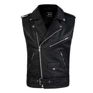 DEFY Men's Genuine Leather Carry Vintage Vest
