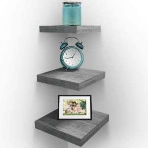 Sorbus Wall Mount Corner Shelves