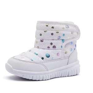 HOBIBEAR Boys Girls Winter Waterproof Snow Boots