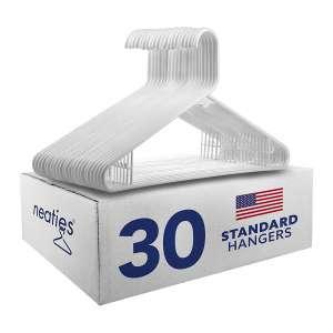 Neaties American Made Plastic Hangers