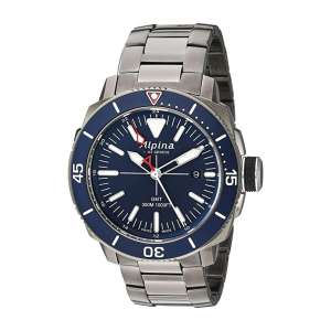 Alpina AL-247LNN4TV6B Men's Seastrong Titanium Diving Watch