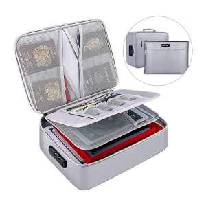 ENGPOW Fireproof Document Storage Bag with Money Bag