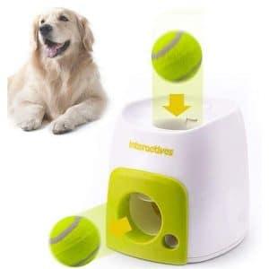 SAIJINZHI Automatic Ball Launchers for Dog