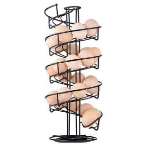 Toplife Spiral Design Metal Egg Skelter