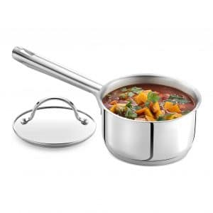 GOURMEX Stainless Steel Saucepan
