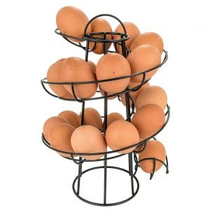 Egg Skelter Deluxe Spiraling Dispenser Rack