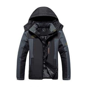Men's Waterproof Fleece Jacket