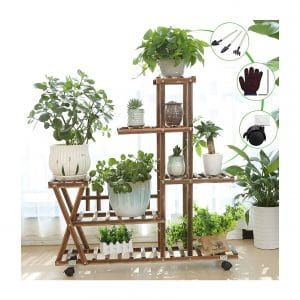 YOUFANG Wooden Plant Stand