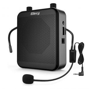 Giecy Portable 30W Voice Amplifiers 2800mAh Battery