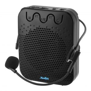 Moukey Voice Amplifier Portable Speaker Rechargeable Mini PA System