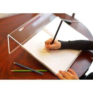 Playlearn Acrylic Ergonomic Writing Slope 20 Degrees Angle