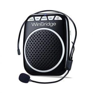 WinBridge WB001 Portable Voice Amplifier with Headset
