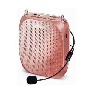 SHIDU Portable Mini Voice Amplifier Wired Microphone