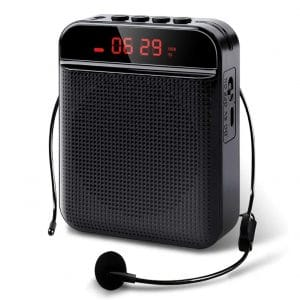 PalliPartners 3200mAh Voice Amplifier Microphone Headset