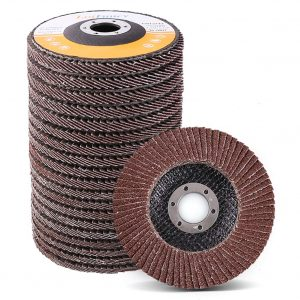 LotFancy 4.5 Inches Flap Discs 20 Pieces Aluminum Oxide Abrasives