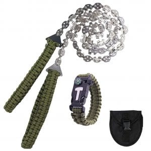 PetAZ Pocket Chainsaw with Fire Starter