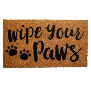 PLUS Haven Wipe Your Paws Doormat