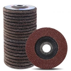 Coceca 20 Pieces Flap Discs 4.5 Inches Sanding Grinding Wheels