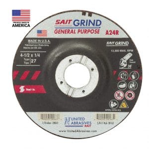 United Abrasives SAIT General Purpose Long Life Grinding Wheels