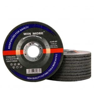 Win More Grinding Wheels for Metal and Stainless Steel