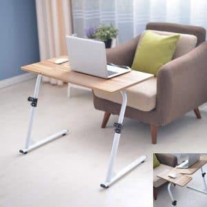 Adjustable & Tilt Angle Folding TV Tray