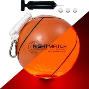 Nightmatch Tetherball Toy with Spare Batteries