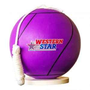 Western Tetherball with Rope Set