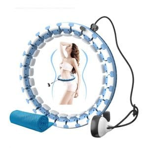 DOUDOUR Weighted Hoola Hoop for Kids and Adults