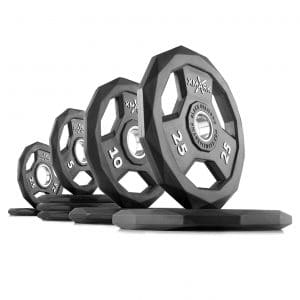 XMark Black Diamond Olympic Weight Plates