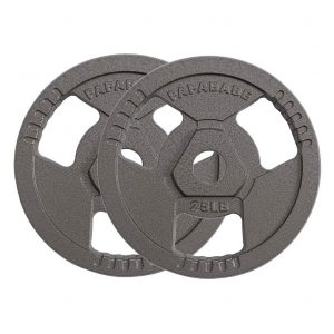 papababe 2-Inch Olympic Grip Plate Sets