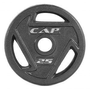 Cap Cast Iron Olympic Grip Plate - Multiple Choices Available