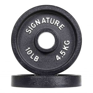 Signature Fitness 2-Inch Iron Weight Plates