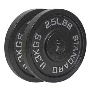 GRIND Fitness Iron Weight Plate Pair