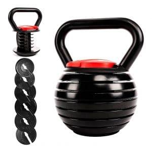 Victor Fitness Adjustable Kettlebell