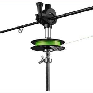 thkfish Fishings Line Spooler Winder Mini Line Spooler Fishings Rod Reel Spooling Station System Fishings Pole Clamp