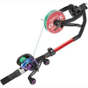 Piscifun Speed X Fishings Line Spooler Machine with Unwinding Function - Fishings line Winder Spooler Fishings line Spooling Station Works with Spinning Reel, Cast Reel and Spincast Reel