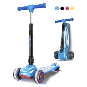 LOL-FUN Toddler Scooter for Kids