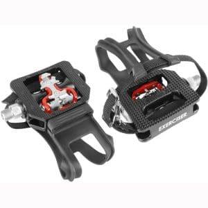 Wellgo WPD-E003 Shimano SPD Compatible Indoor Bike Pedals
