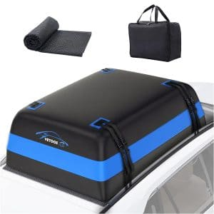Vetoos 21Cu Ft Rooftop Cargo Carrier for All Vehicles