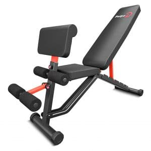 pelpo Full Body Workout Weight Bench, Adjustable Strength