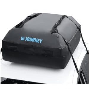rabbitgoo 15-Cubic Ft Waterproof Rooftop Cargo Carrier for all Car