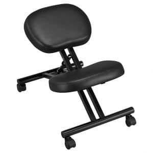 YAHEETECH Kneeling Chair with Thick Cushion Pad